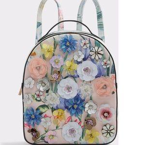 Aldo Multicolor floral back pack